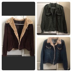 Bundle of 3 JACKETS for size XL